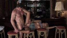 Divinity Love is eager to feel a hunky dude's python inside her
