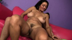 Busty exotic slut Persia Monir takes Billy's thick meat deep into her pussy