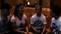 Couples Go Watch A Fight In Las Vegas To Get Charged Up To Fuck