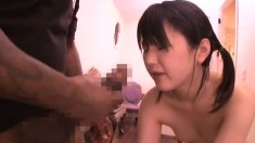 Hairy Asian Teen Anal Cream