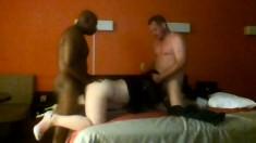 Fat Bbw Interracial Threesome