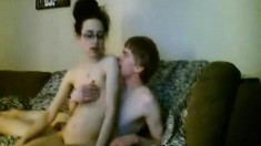 Amateur couple doggystyle sex