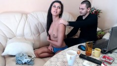 Sexy college girl live masturbation toys on w