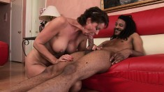 Vanessa Videl shows off her amazing tits while riding a cock