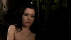 Clarisse brings her dark fantasy to life and enjoys intense orgasms