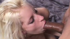 Desire Moore gets treated like a whore by a group of hung black studs