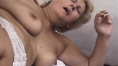 Fat Granny Is Happy To Get A Dick To Chew On And Bang Her Old Hole