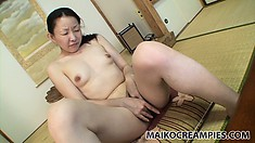 Yukie is the newest Asian MILF to join the casting couch and get naked for action