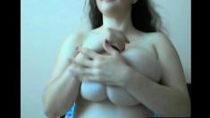 Big Boobies Girl On Webcam