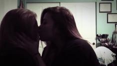 Amateur asian girls lesbian kiss
