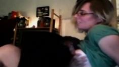 Lesbian and Webcam