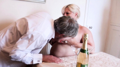 AgedLovE Busty Mature Providing Nasty Blowjob